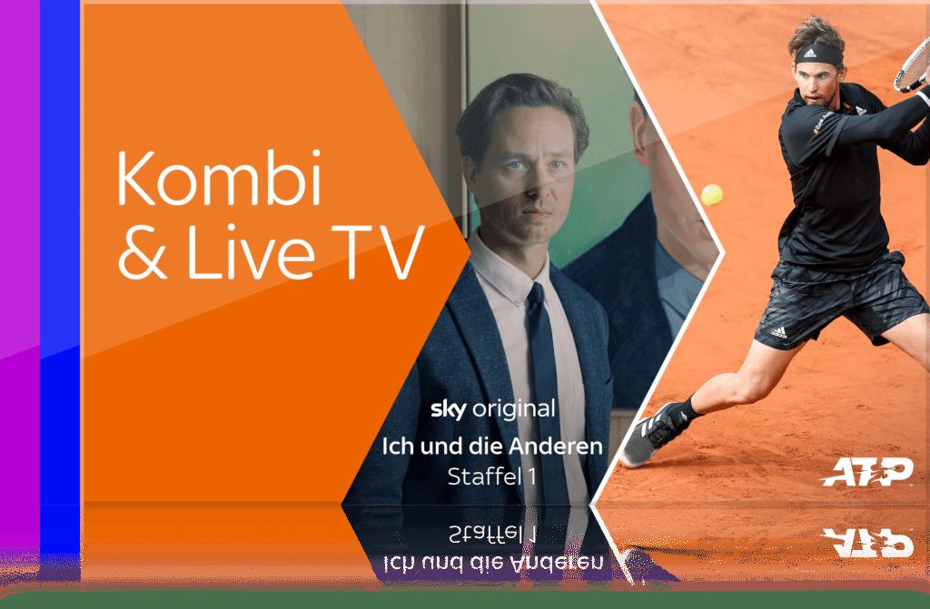 Sky X Fiction & Sport mit Kombi & Live-TV Angebot - um nur 24€ für Sky X komplett!