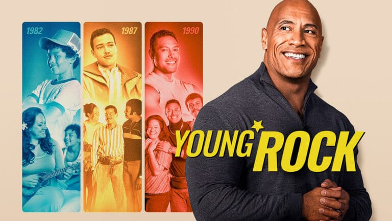 """Dwayne """"The Rock"""" Johnson in der Serie """"Young Rock"""""""